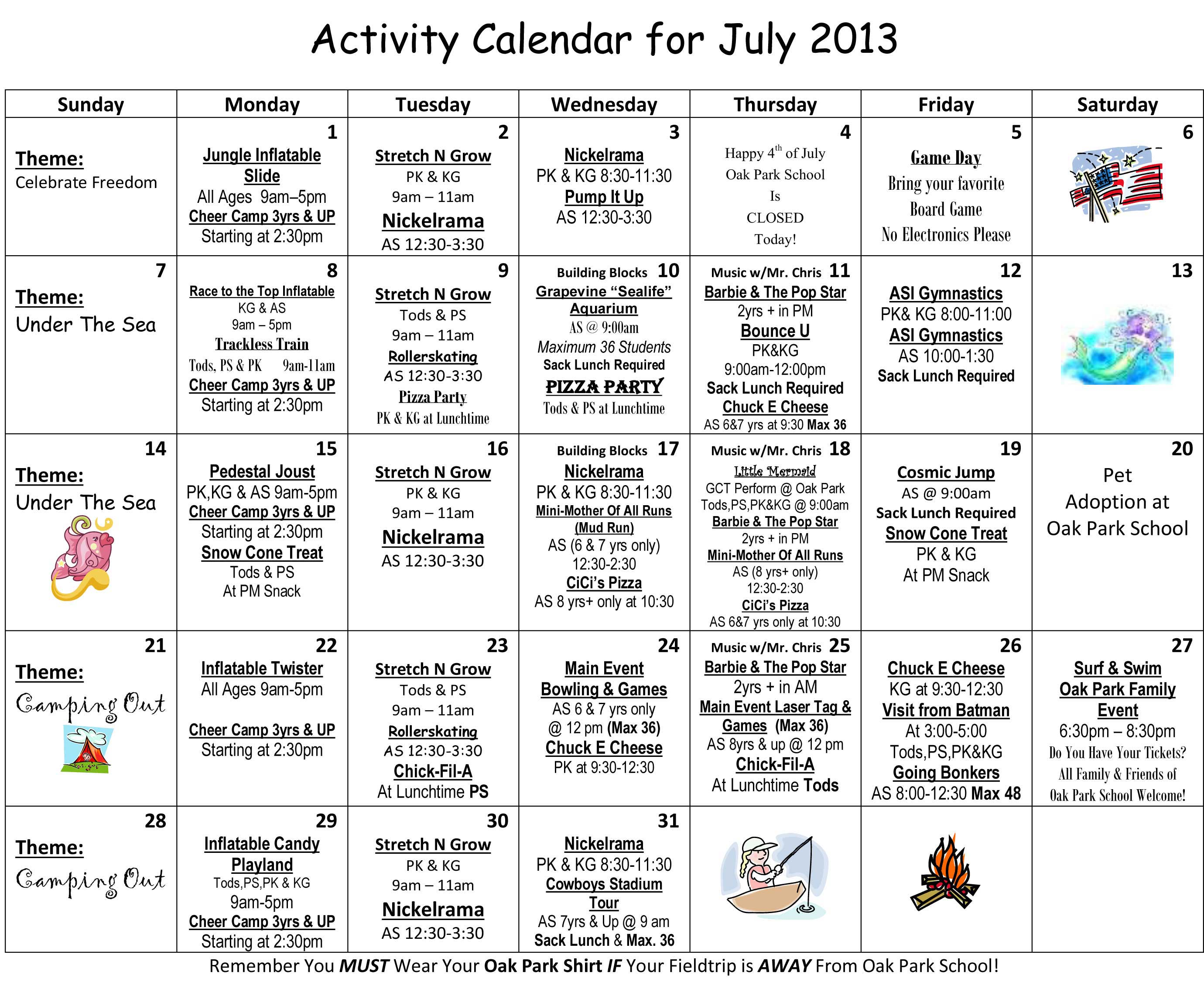 30 Day Challenge Calendar Template/page/2   Search Results   Calendar ...